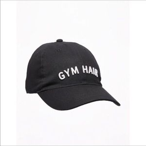 GYM HAIR...DONT CARE Baseball Cap